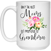 Gift For Grandma Only Best Moms Get Promoted To Grandma Mug