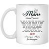 You Mean The World For All You Do Mug - Gift For Mom
