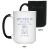 The One Who Endures Your Farts And Still Love You Mug Gift For Dad