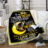 Famh - to my wife how special you are to me blanket