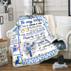 Famh - to my wife once upon a time i love you blanket for wife best idea meaningful