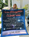 Famh - my dear daughter always proud of you blanket gifts for daughter