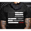 G1 Husband Daddy Protector Hero Shirt - Fathers Day Shirt