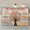 Autism awareness poster canvas - GST
