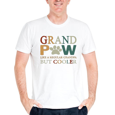 Grand Paw Dad Shirt - Dog Lover Shirt