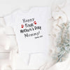 G2 Personalized Happy 1St Mother's Day Baby Bodysuit Baby Gift