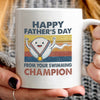 G3 Happy Father's Day From Your Swimming Champion Mug Gift For Dad