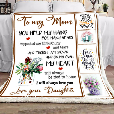 Gift For Mom I Will Always Love You Blanket