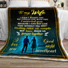 To My Wife Love Made Us Forever Together Blanket