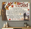 Personalized To My Dad I Was Raised By You Canvas Gift For Dad