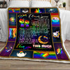 Tht - lgbt baby i love you this much - blanket