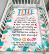 Personalized Name Hug This Blanket Gift For Grandma