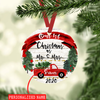 Personalized Our First Christmas Mr And Mrs Ornament Christmas Gift For Couple
