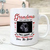 Personalized Happy Mother's Day From The Bump Mug - Grandma Mug