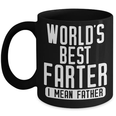 World Best Farter Funny Mug - Daddy Mugs