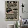 G-poster - Dad to Son - You are my son