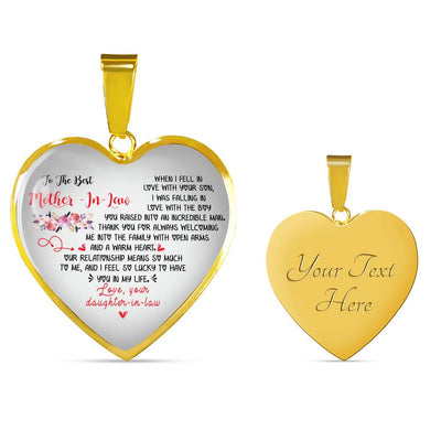 Perfect gift for mother-in-law necklace famh