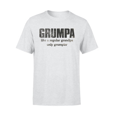 Grumpa White Shirt