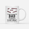 Thank You For Being There For Me Mug - Bonus Dad Mug