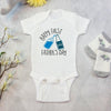 Cheer For The First Father's Day Baby Onesie Baby Gift