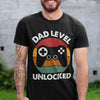 Dad Level Unlocked Shirt Gift For New Dad - New Dad Shirt