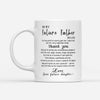 To My Future Father-In-Law I Am Very Proud To Marry Your Son From Future Daughter Mug Gift For Father-In-Law