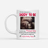 Personalized To My Daddy To Be From Baby Bump Gift For Husband White Mug