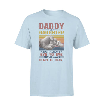 Daughter and Dad Always Heart To Heart Shirt - Dad Shirt