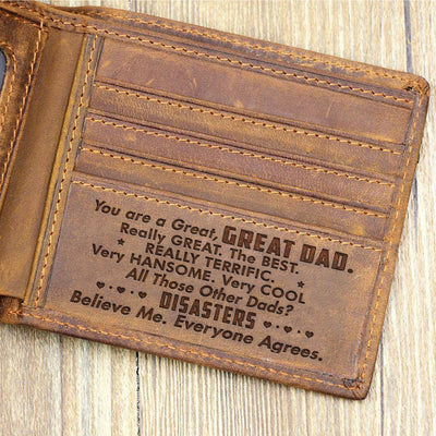 F1 You Are A Great Dad Believe Me Wallet Gift For Dad