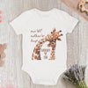 Personalized 1st Mother's Day Giraffe Baby Onesie GST