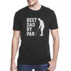 Best Dad By Par Golf Dad Shirt Gift For Dad