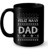 Feliz Navi Dad Ugly Sweater Pattern Christmas Shirt Gift For Dad