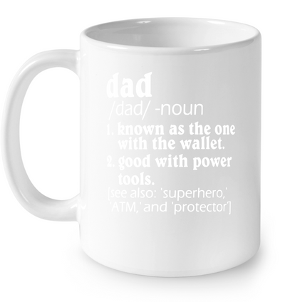 Dad Definition One With The Wallet T-shirt Gift For Dad