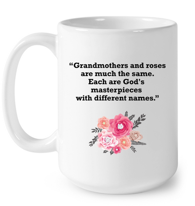 Grandmothers and roses
