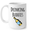 Drinking Buddies Shirt Onesie Gift For Dad And Baby