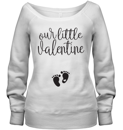 Our Little Valentine Tee Gift For Wife