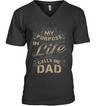 My Purpose In Life Calls Me Dad T Shirt Gift For Dad