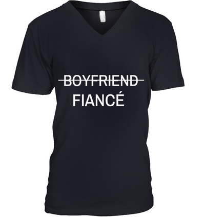 Boyfriend Promoted To Fiance Shirt Gifts For Him