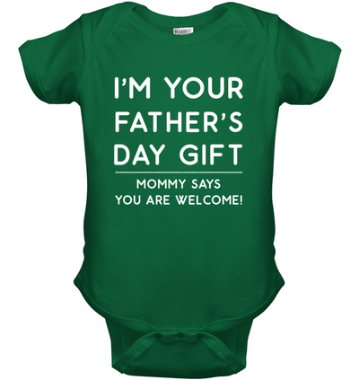 Mommy Says I'm Your Father's Day Gift Onesie Gift For New Dad
