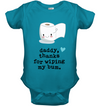 Daddy, thanks for wiping my bum, gift for infant, baby shirt, gift for kids, child's gift