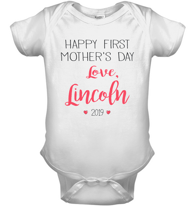 Lincoln, kid shirt, gifts for kid, plus size shirt, baby onesie fp3121