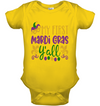 My First Mardo Gras Kid Shirt Gifts For Kid Plus Size Shirt Baby Onesie