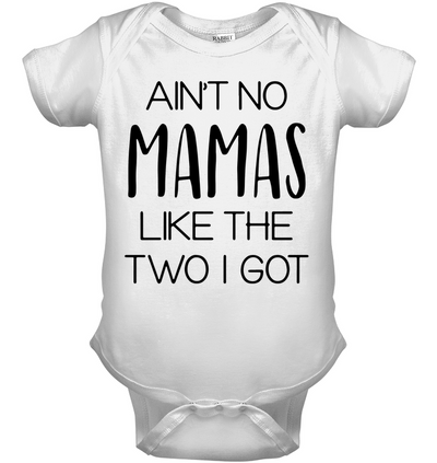 Famq ain't no mamas like the two i got, kid shirt, gifts for kid, unisex shirt, plus size shirt