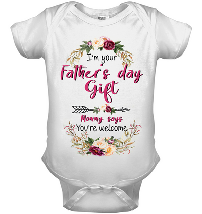 MATCHING TEE FOR DAD AND BABIES - FAMQ, Gift For infant, Baby Shirt, Gift For Kids, Child's Gift, All Size For Kids