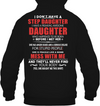 I Have A Freaking Awesome Daughter Who Happened To Be Born Before I Met Her T Shirt Gift For Stepdad
