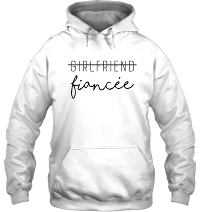 Girlfriend promoted to fiancee cee, gifts for girlfriend, gift for fiancee,  women shirt