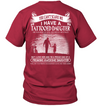 Can't Scare Me I Have Tattooed June Daughter T Shirt Gift For Dad
