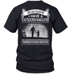 I HAVE A TATTOOED DAUGHTER, Dad gifts, Dad shirt, Gifts For dad, Father's Gift , Father's day gift,  Gift for Men Shirt, Unisex Shirt, Plus Size Shirt,Gifts for him