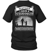 Can't Scare Me I Have Tattooed August Daughter T Shirt Gift For Dad