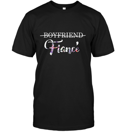 Boyfriend  to Fiance Shirt Gift For Fiance For Engagement